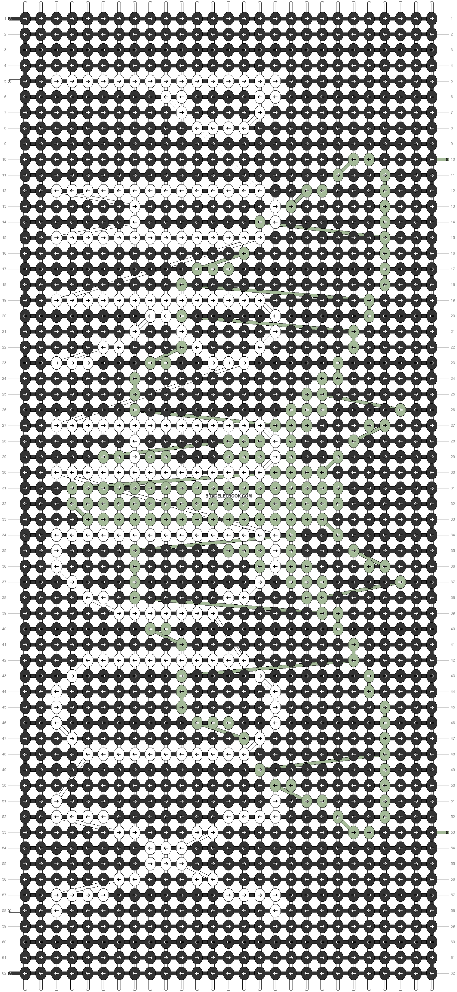 Alpha pattern #79444 pattern