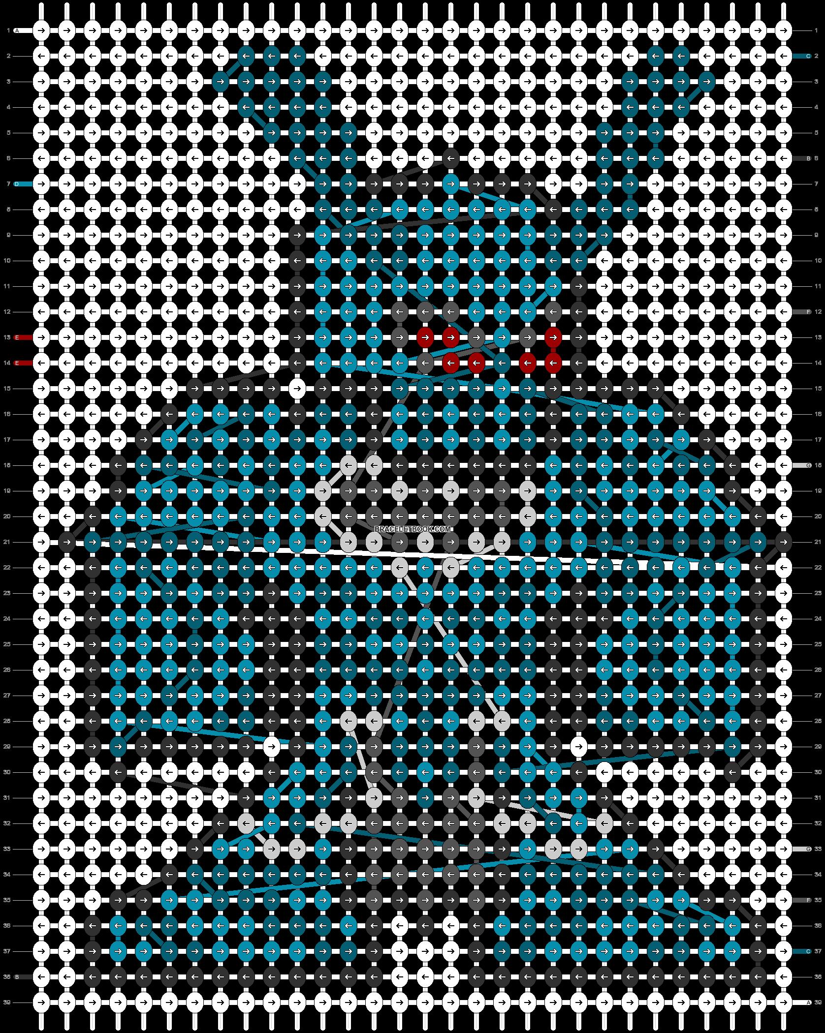 Alpha pattern #79462 pattern