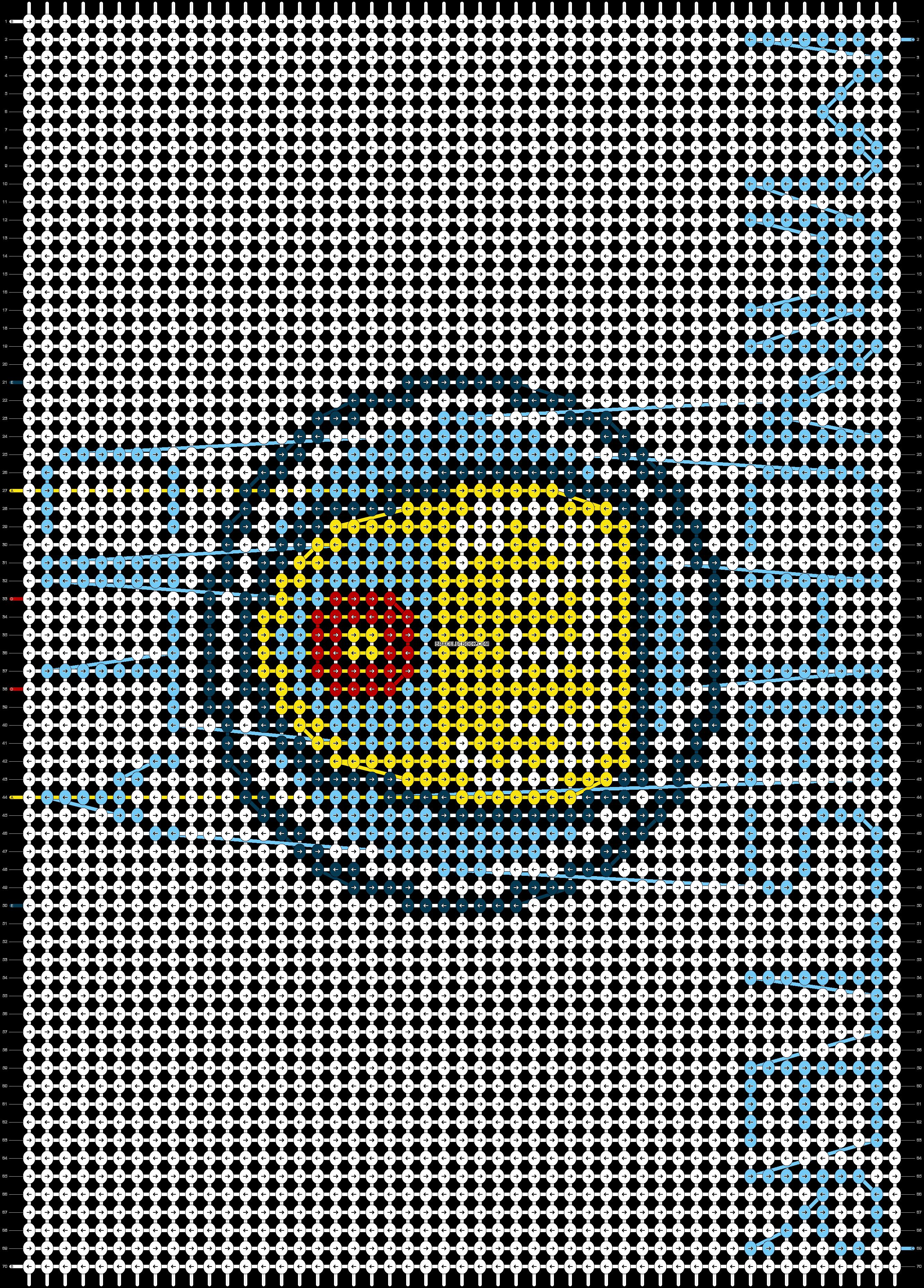 Alpha pattern #79510 pattern