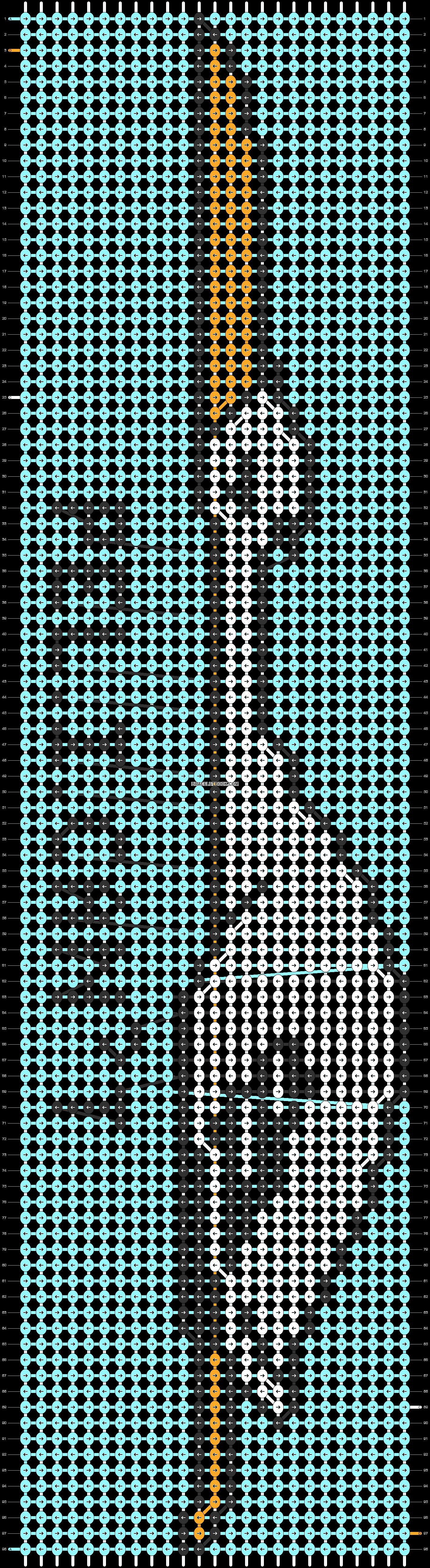Alpha pattern #79538 pattern