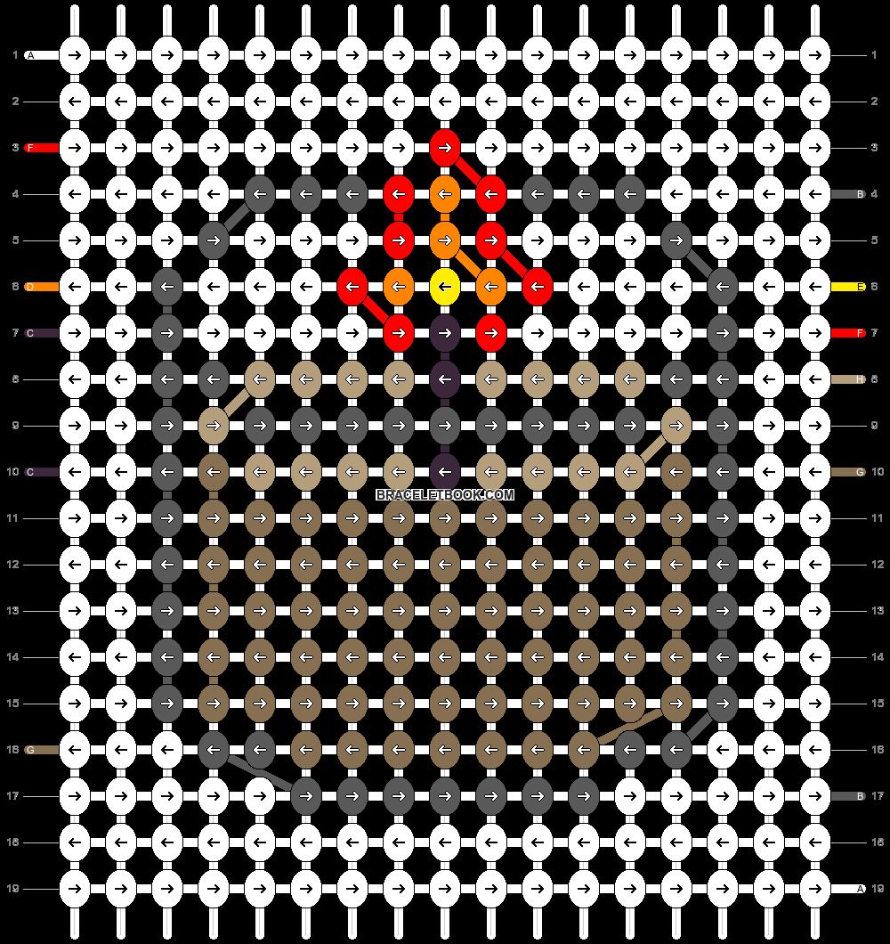 Alpha pattern #79557 pattern