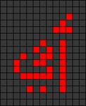 Alpha pattern #79575