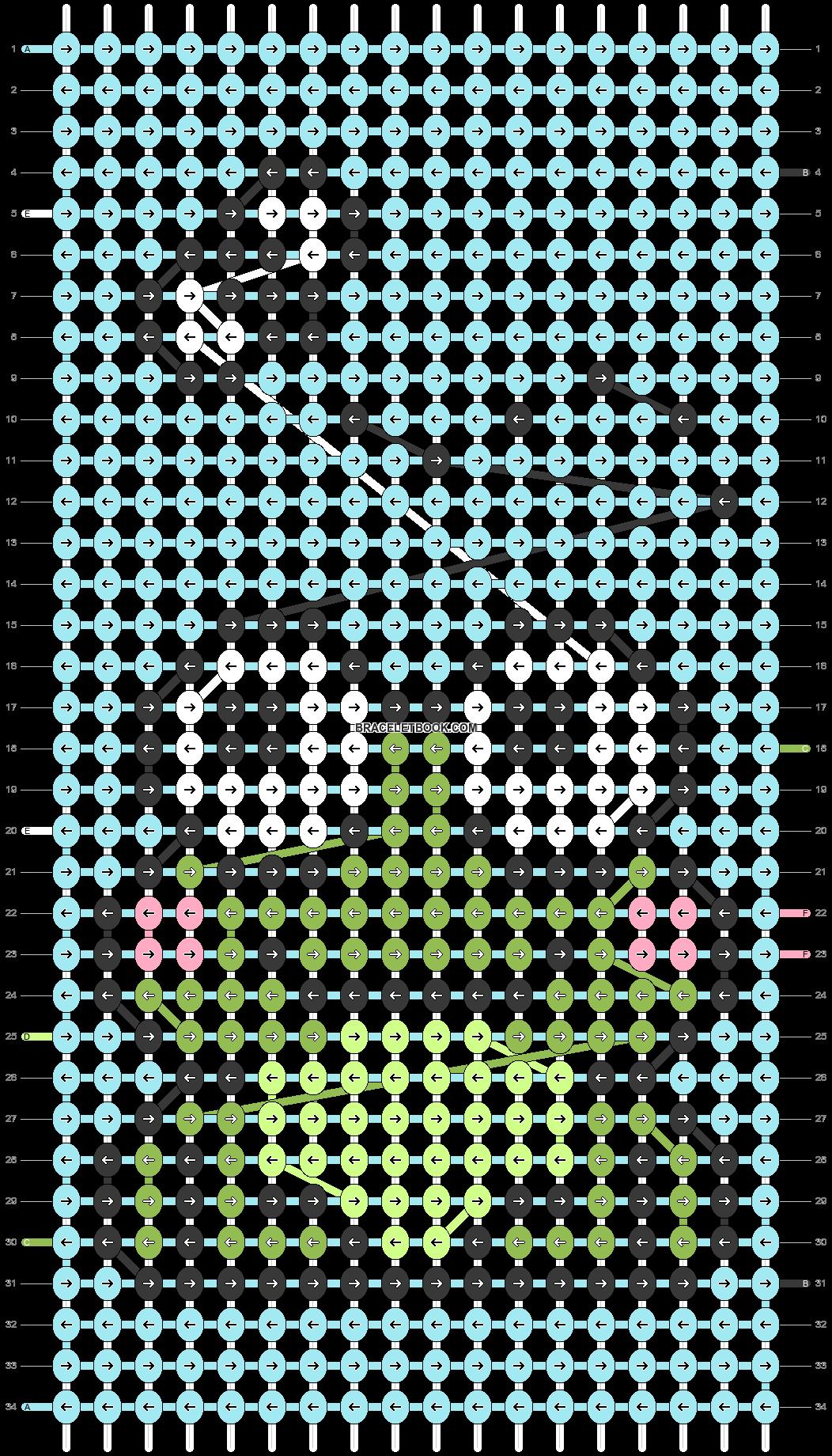 Alpha pattern #79586 pattern