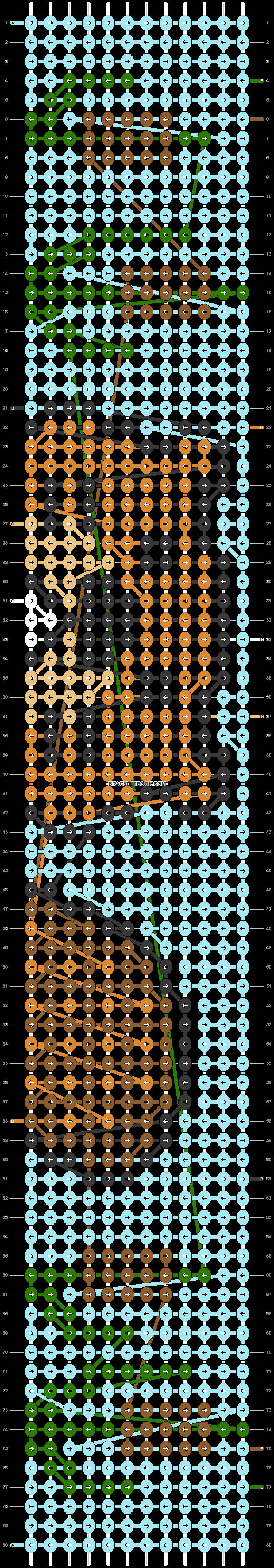 Alpha pattern #79587 pattern