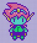 Alpha pattern #79633