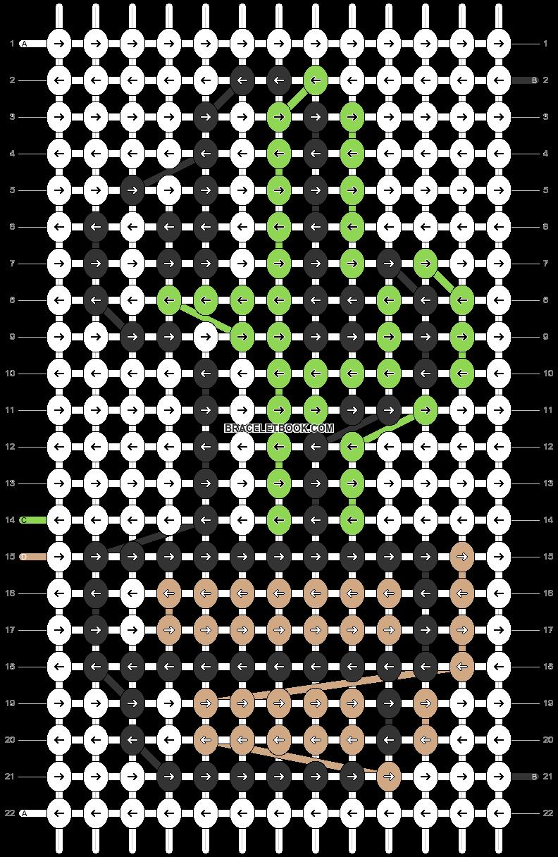 Alpha pattern #79685 pattern