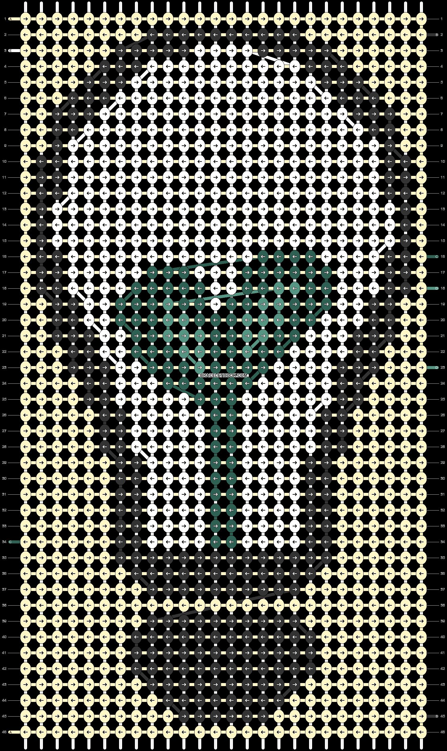Alpha pattern #79716 pattern