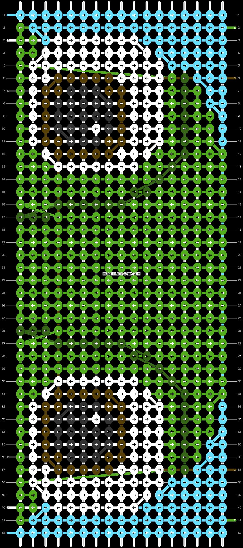 Alpha pattern #79761 pattern