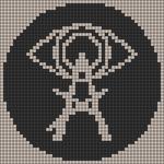 Alpha pattern #79763