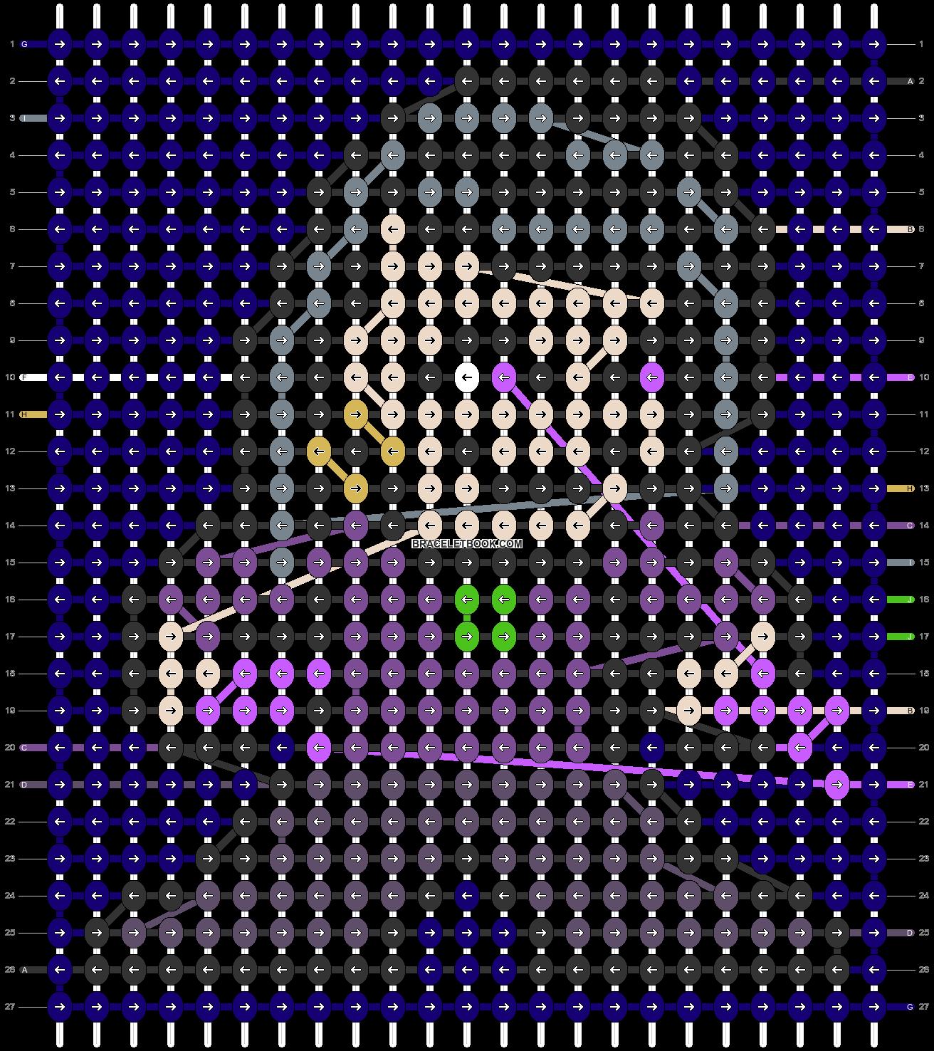 Alpha pattern #79768 pattern