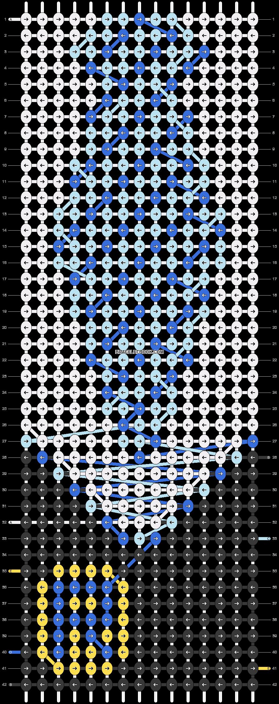 Alpha pattern #79770 pattern