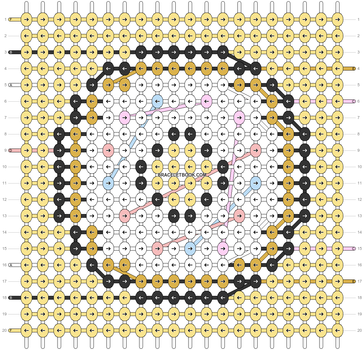 Alpha pattern #79794 pattern