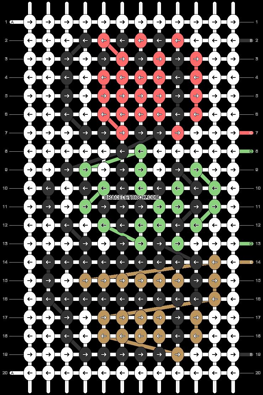 Alpha pattern #79807 pattern