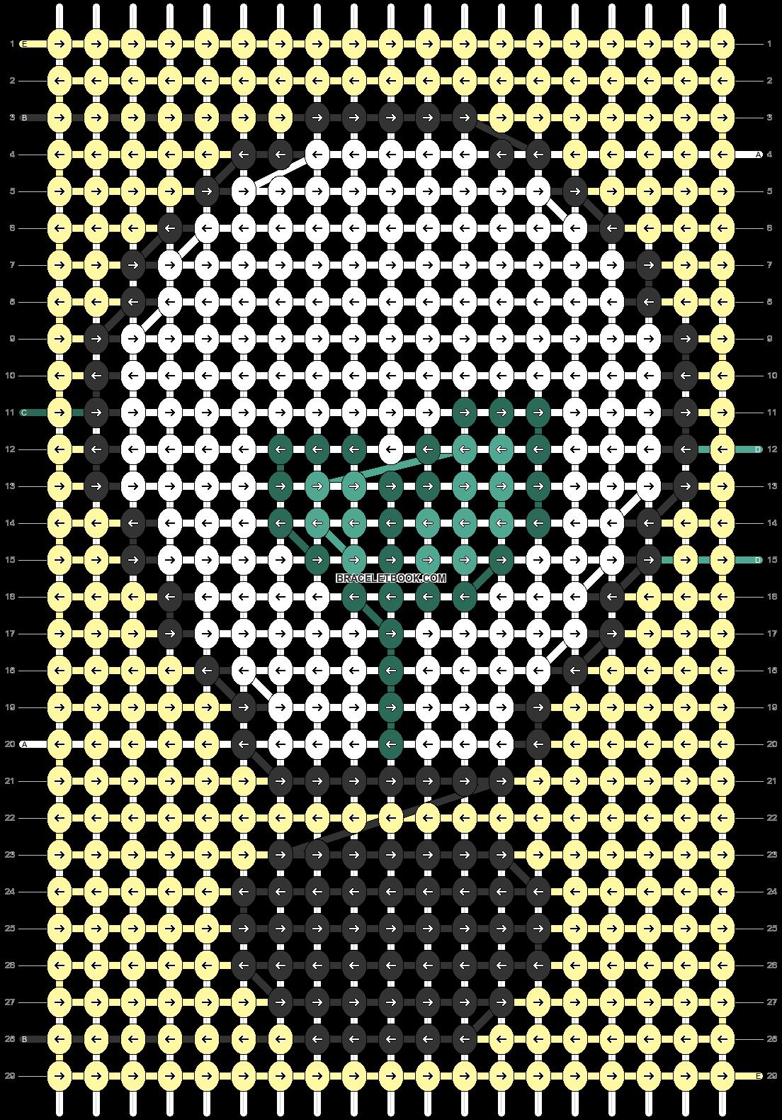 Alpha pattern #79878 pattern