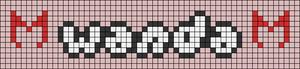 Alpha pattern #79976