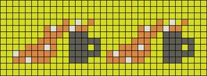 Alpha pattern #79998
