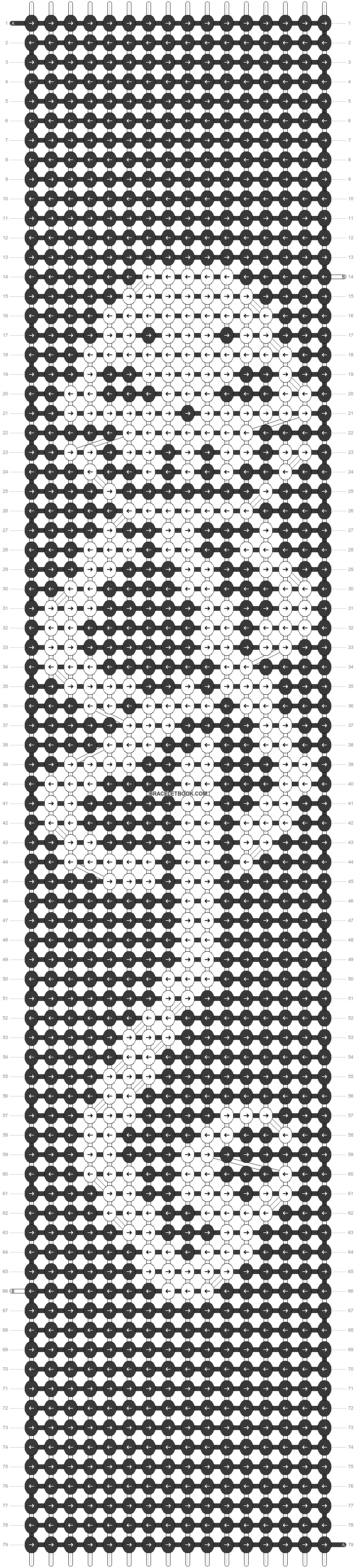 Alpha pattern #80013 pattern