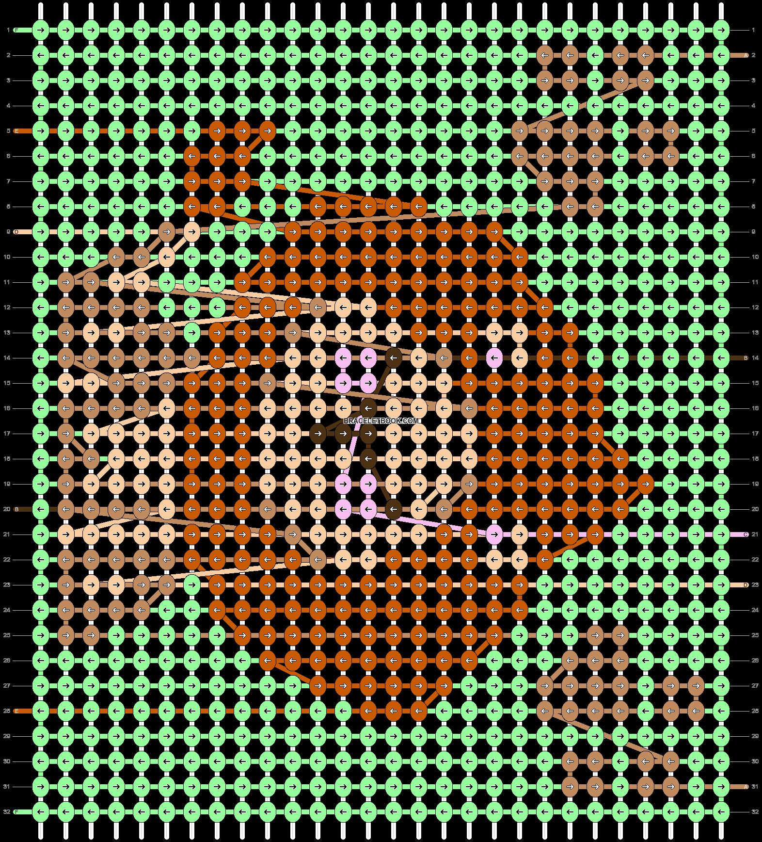 Alpha pattern #80037 pattern
