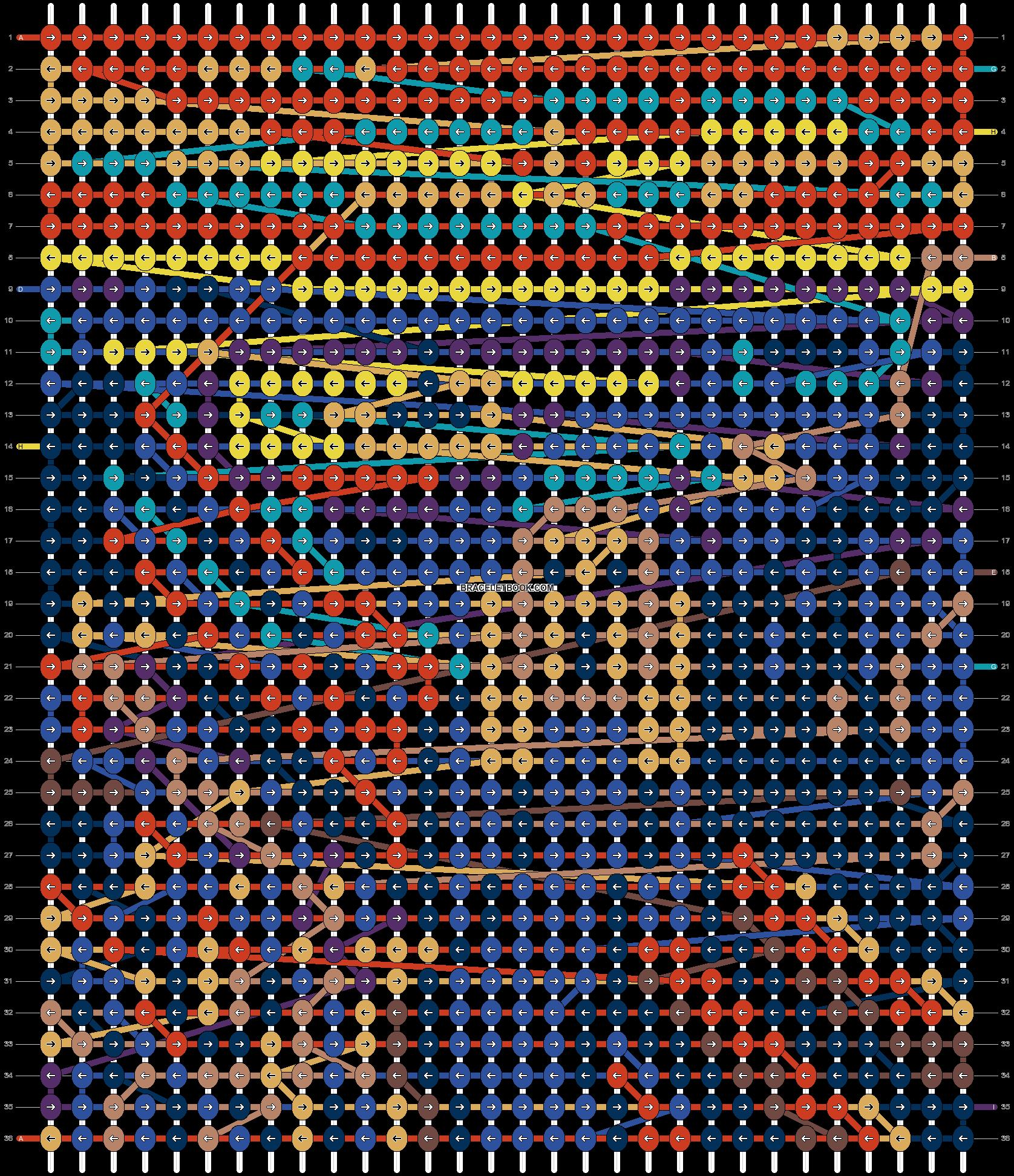 Alpha pattern #80038 pattern