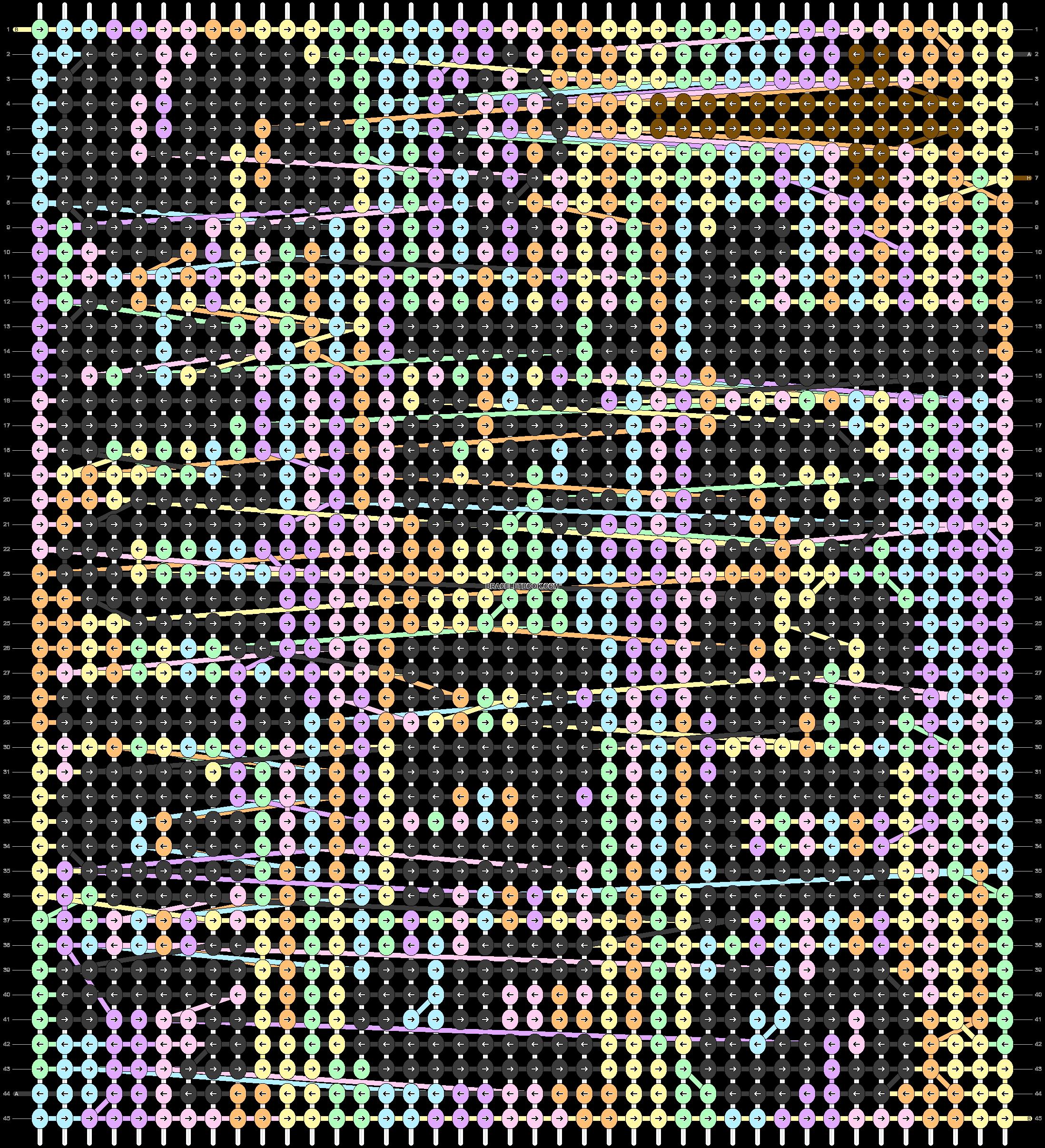 Alpha pattern #80049 pattern