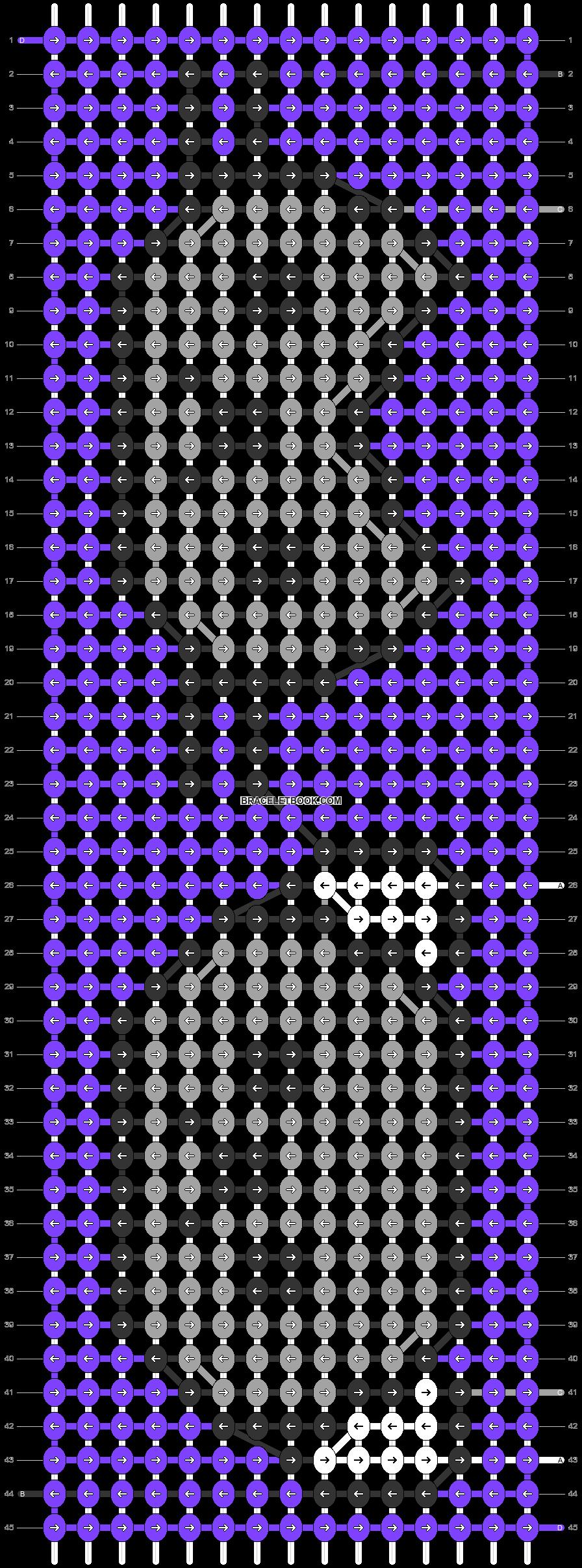 Alpha pattern #80055 pattern