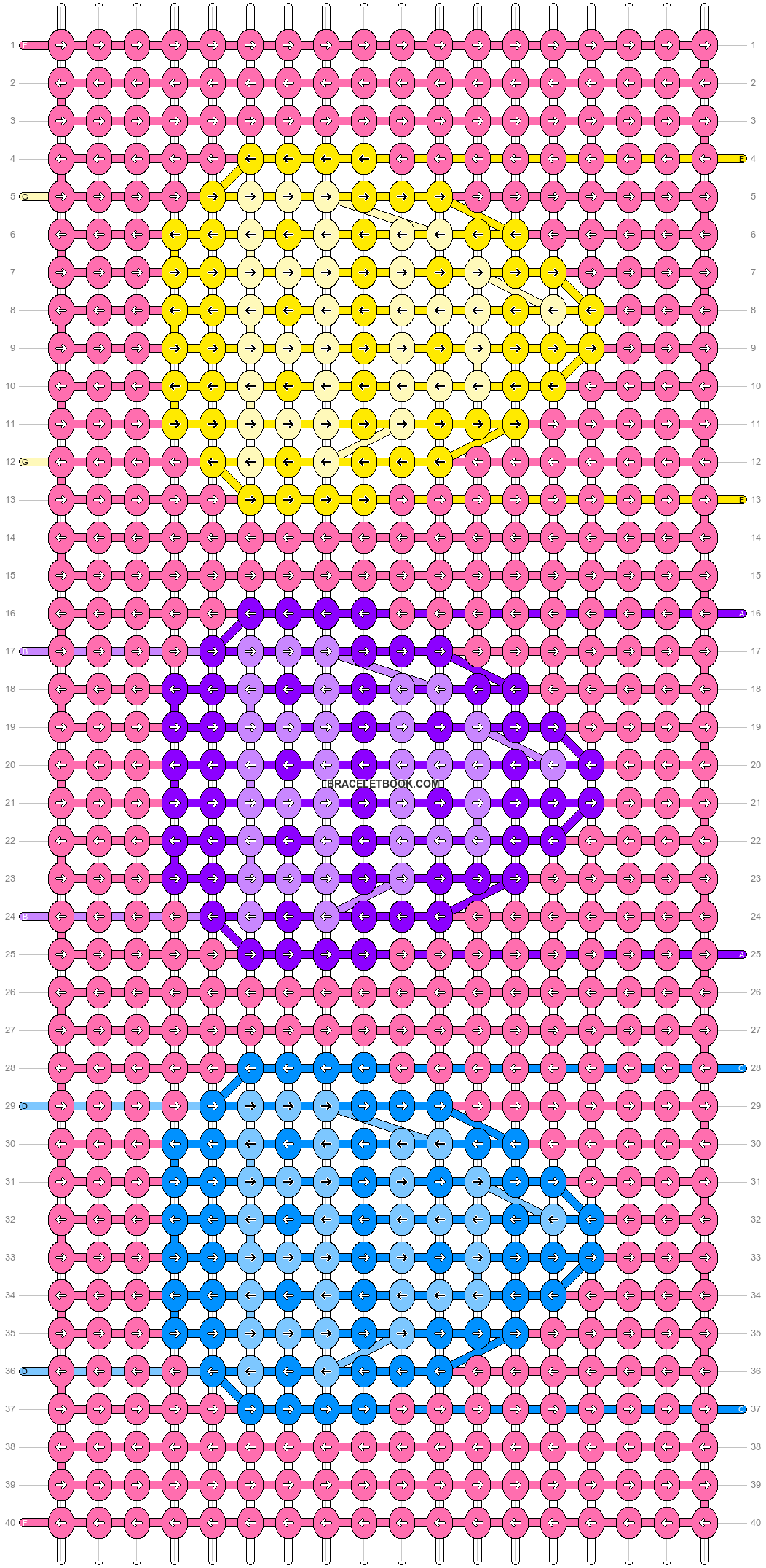 Alpha pattern #80063 pattern