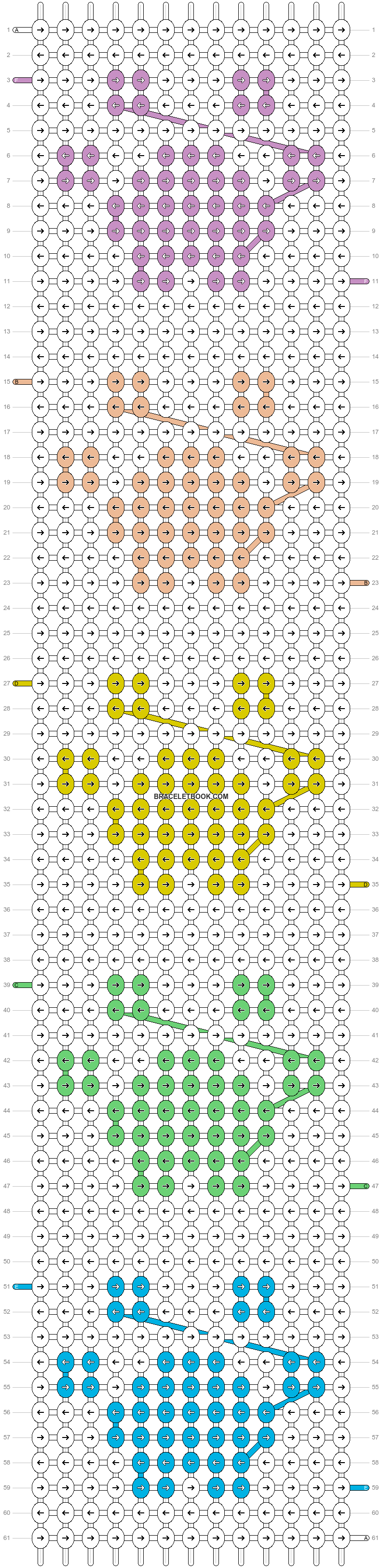 Alpha pattern #80068 pattern