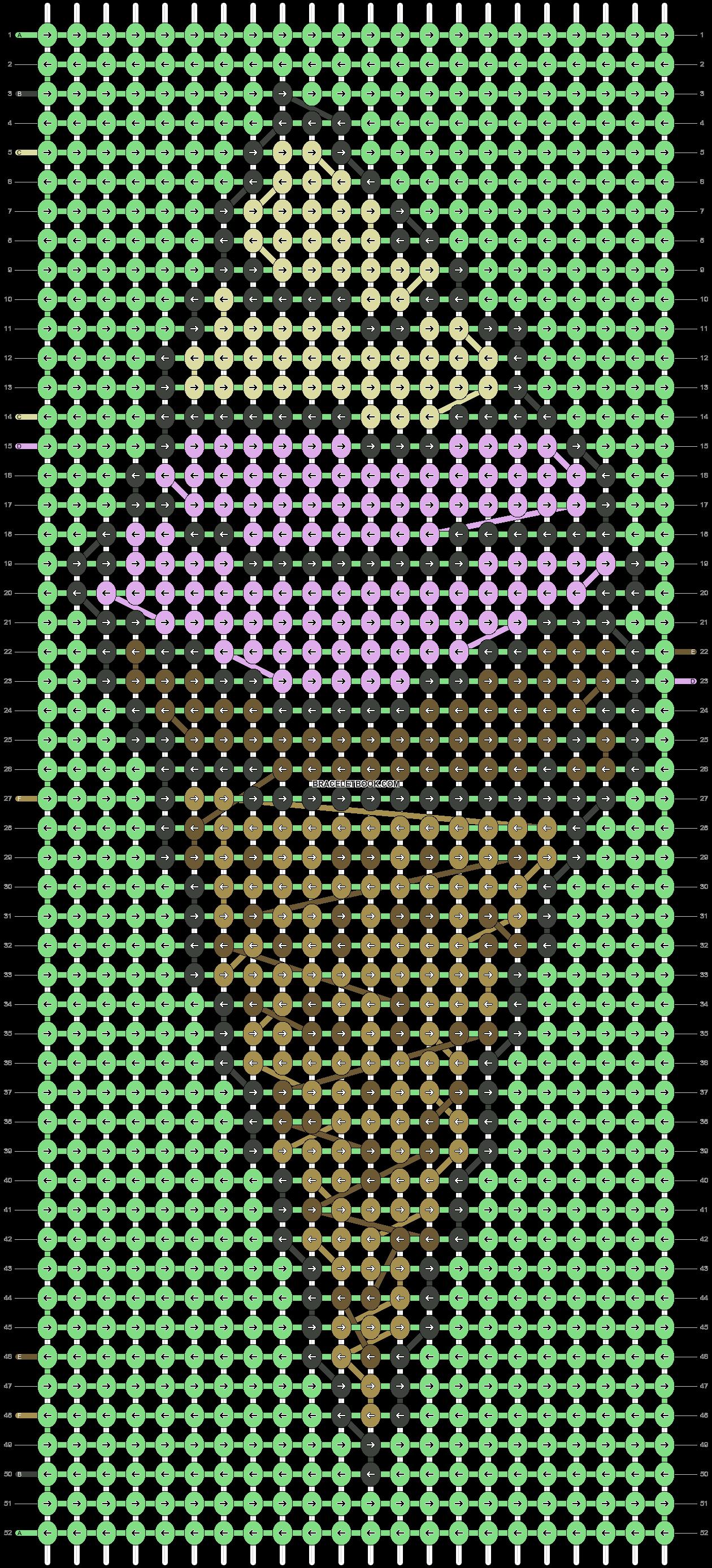 Alpha pattern #80099 pattern