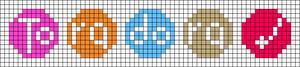 Alpha pattern #80115