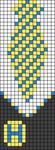 Alpha pattern #80120