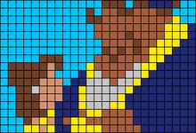 Alpha pattern #80153