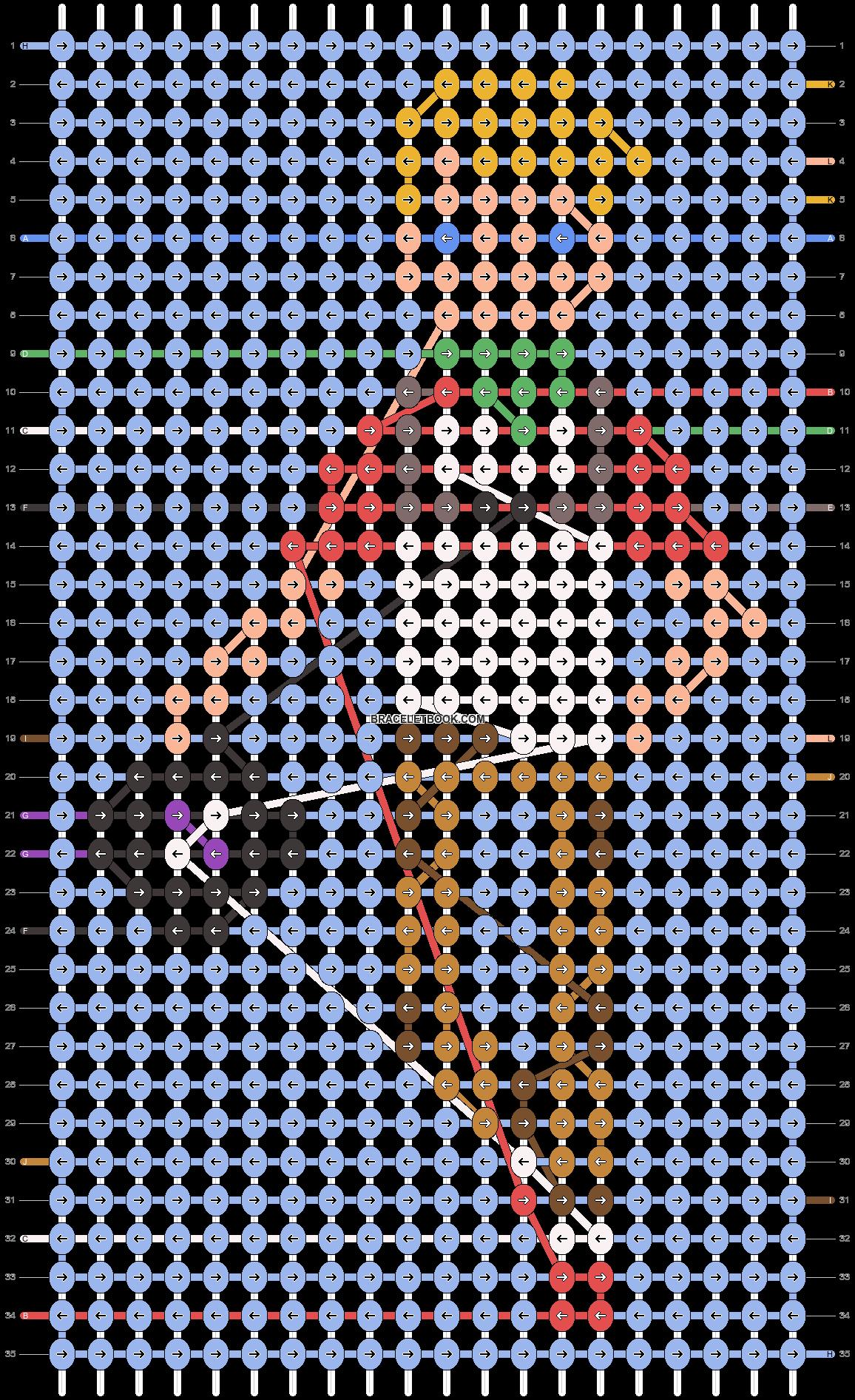 Alpha pattern #80241 pattern
