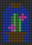 Alpha pattern #80282