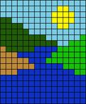 Alpha pattern #80328