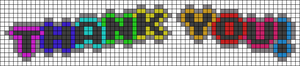 Alpha pattern #80345