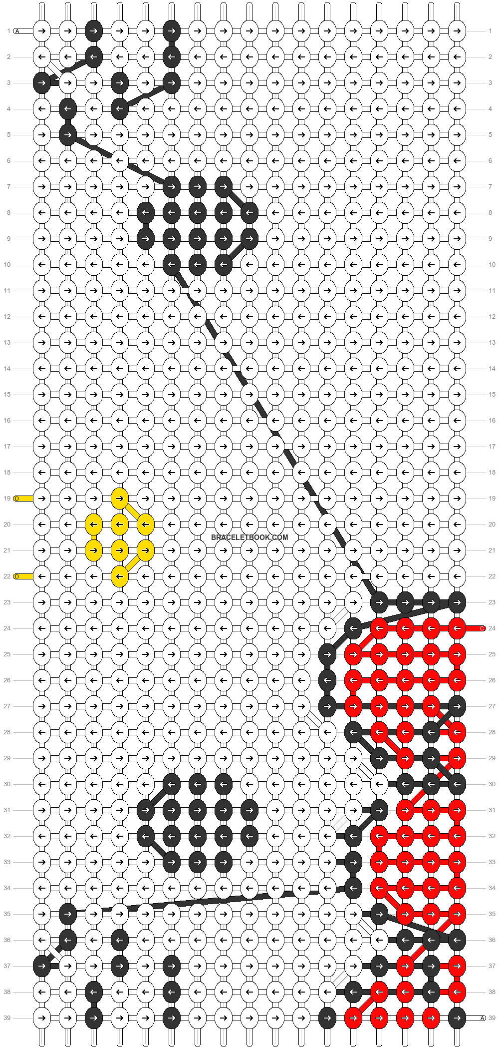 Alpha pattern #80359 pattern