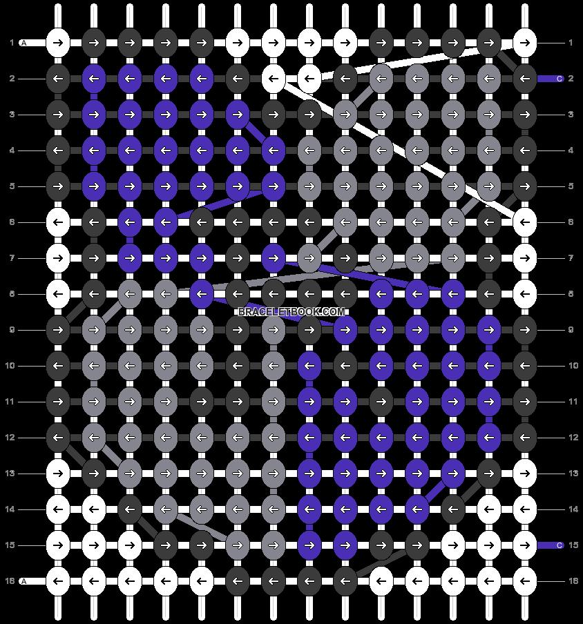 Alpha pattern #80386 pattern