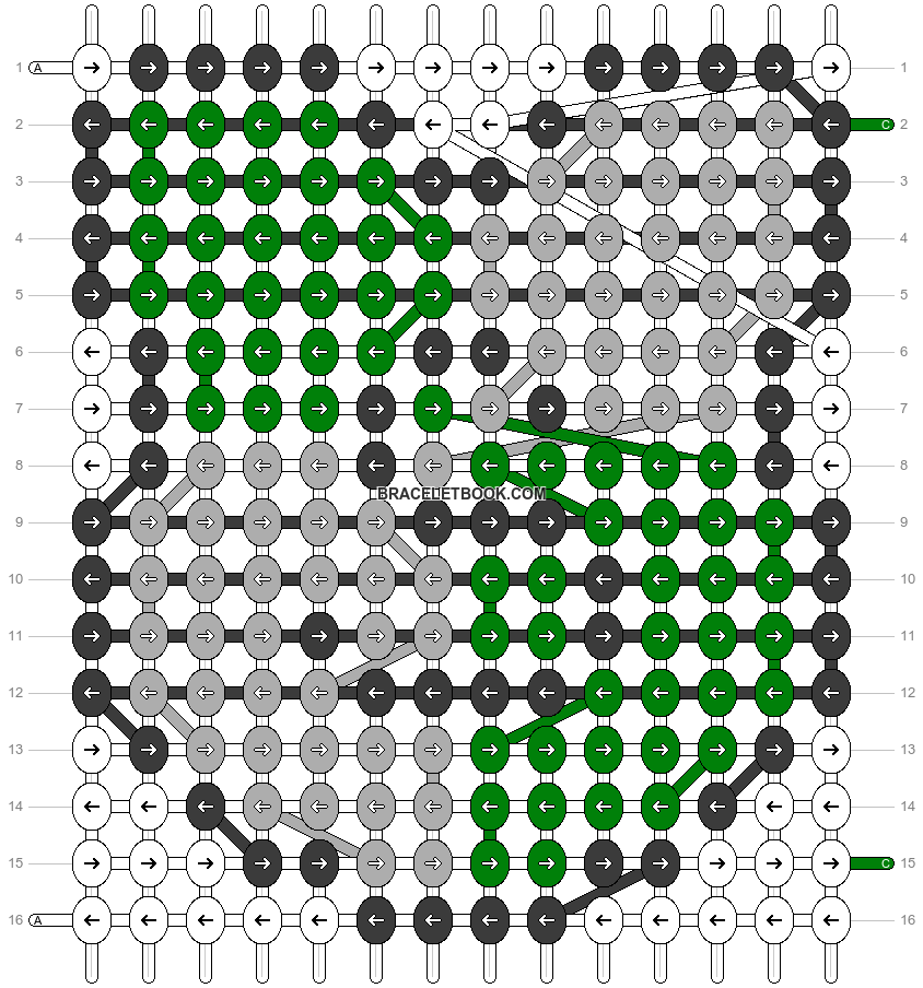 Alpha pattern #80388 pattern