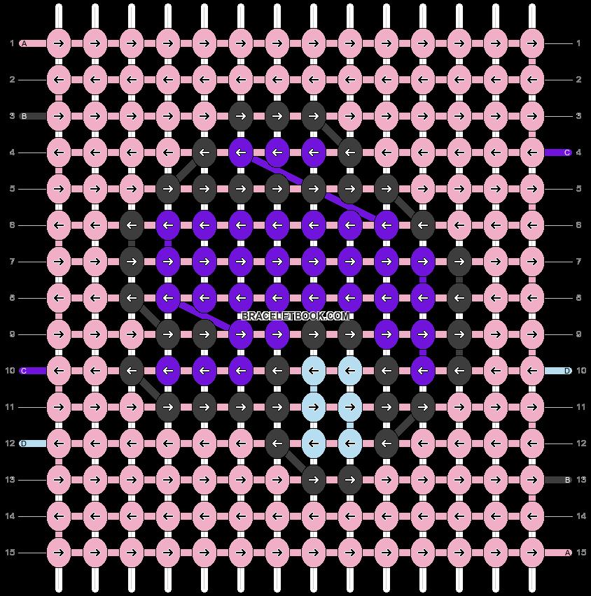 Alpha pattern #80394 pattern