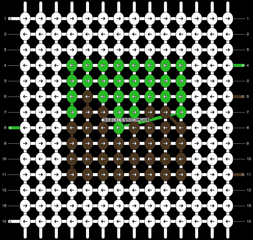 Alpha pattern #80398 pattern