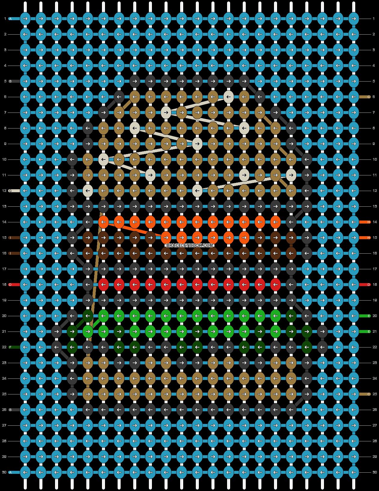 Alpha pattern #80425 pattern