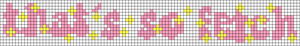 Alpha pattern #80477