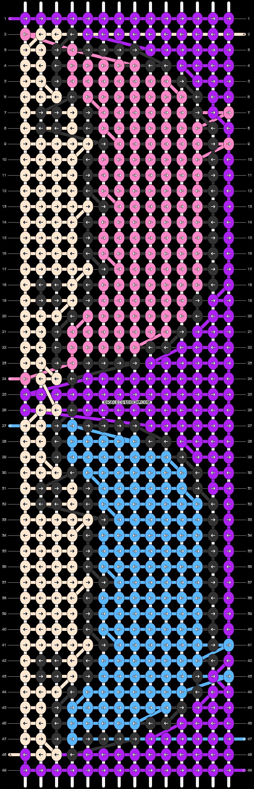 Alpha pattern #80489 pattern