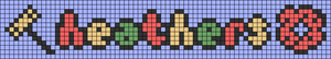 Alpha pattern #80496