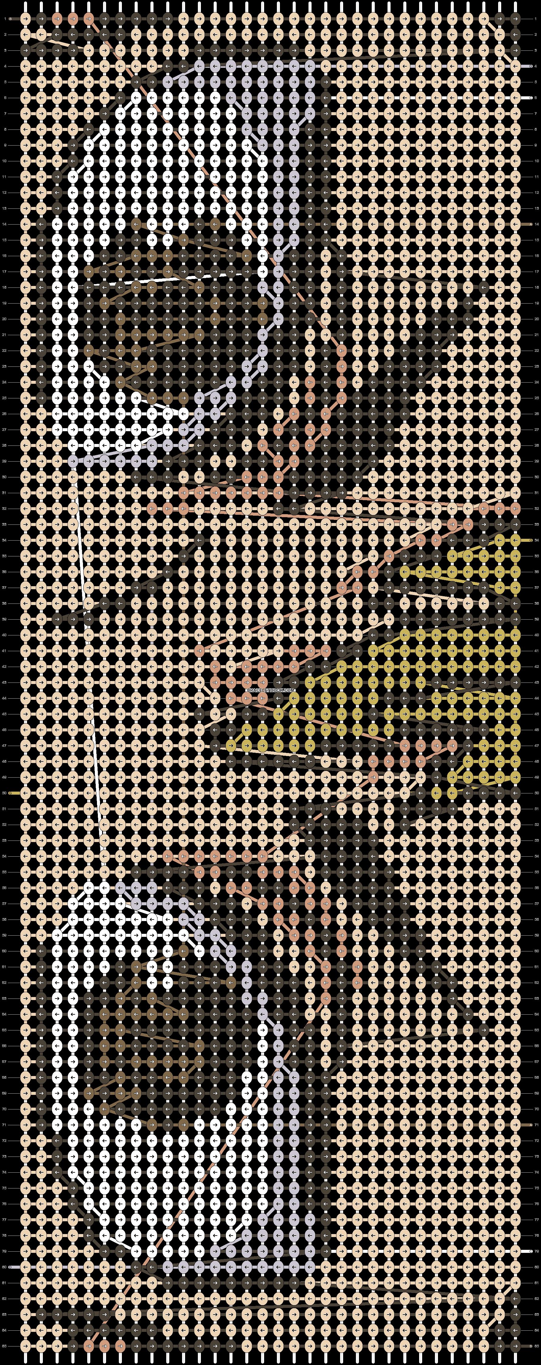 Alpha pattern #80501 pattern