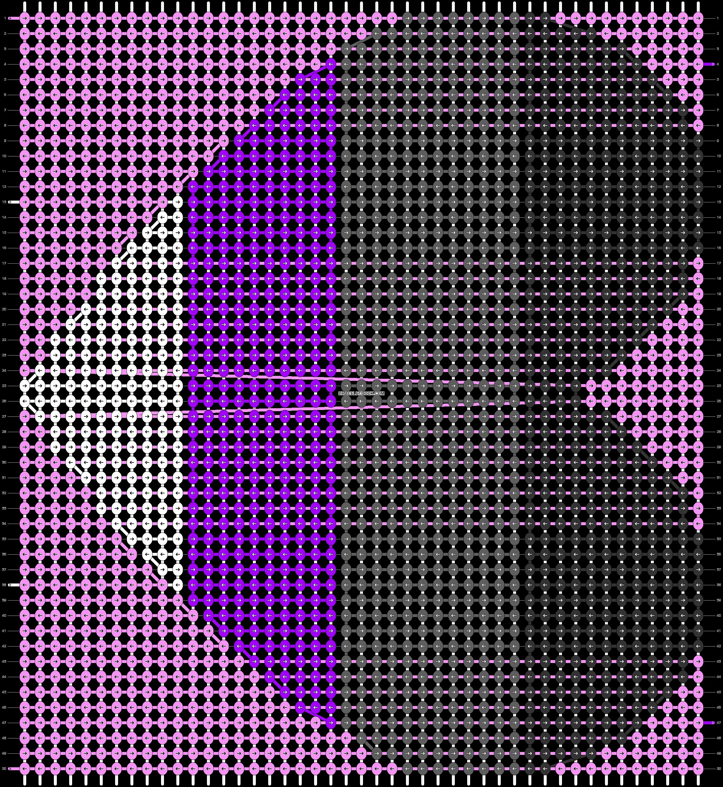 Alpha pattern #80507 pattern