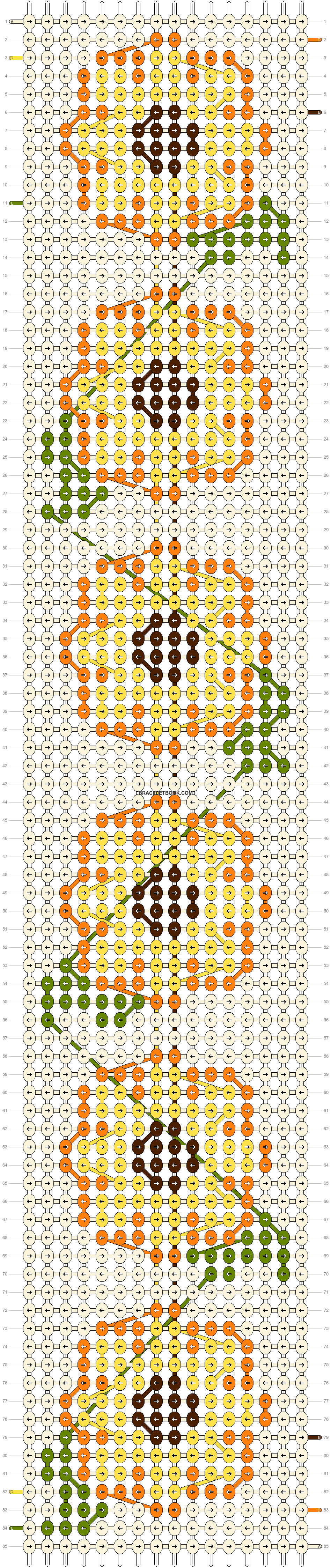 Alpha pattern #80558 pattern