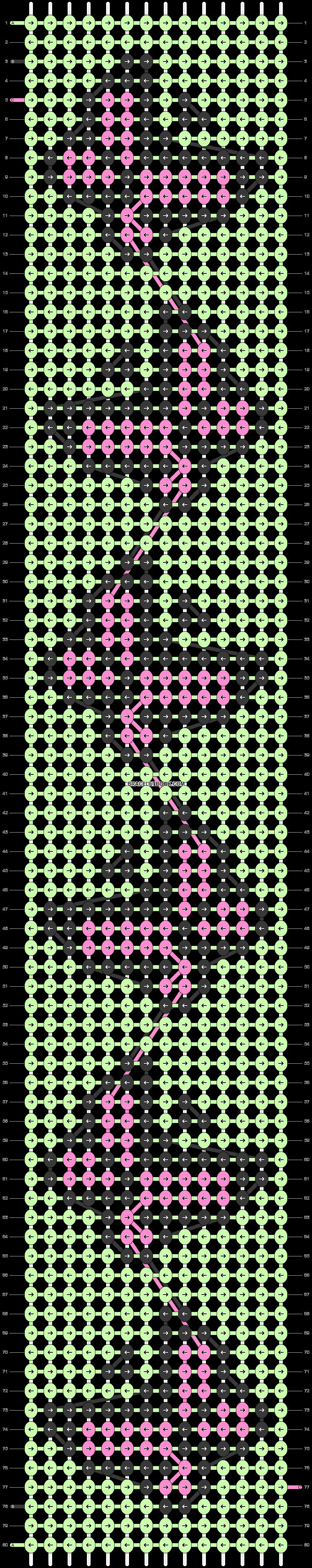 Alpha pattern #80562 pattern