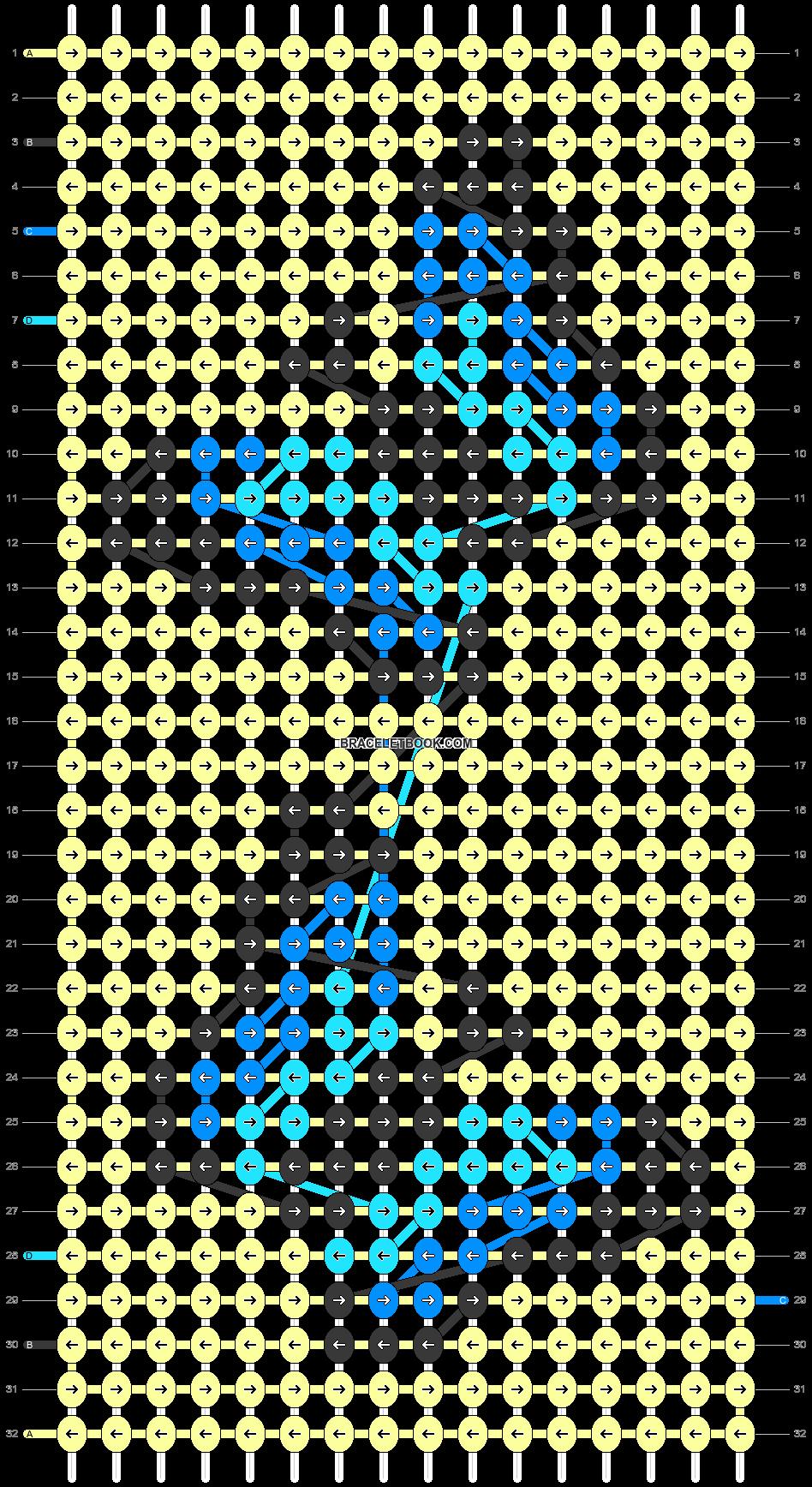 Alpha pattern #80563 pattern
