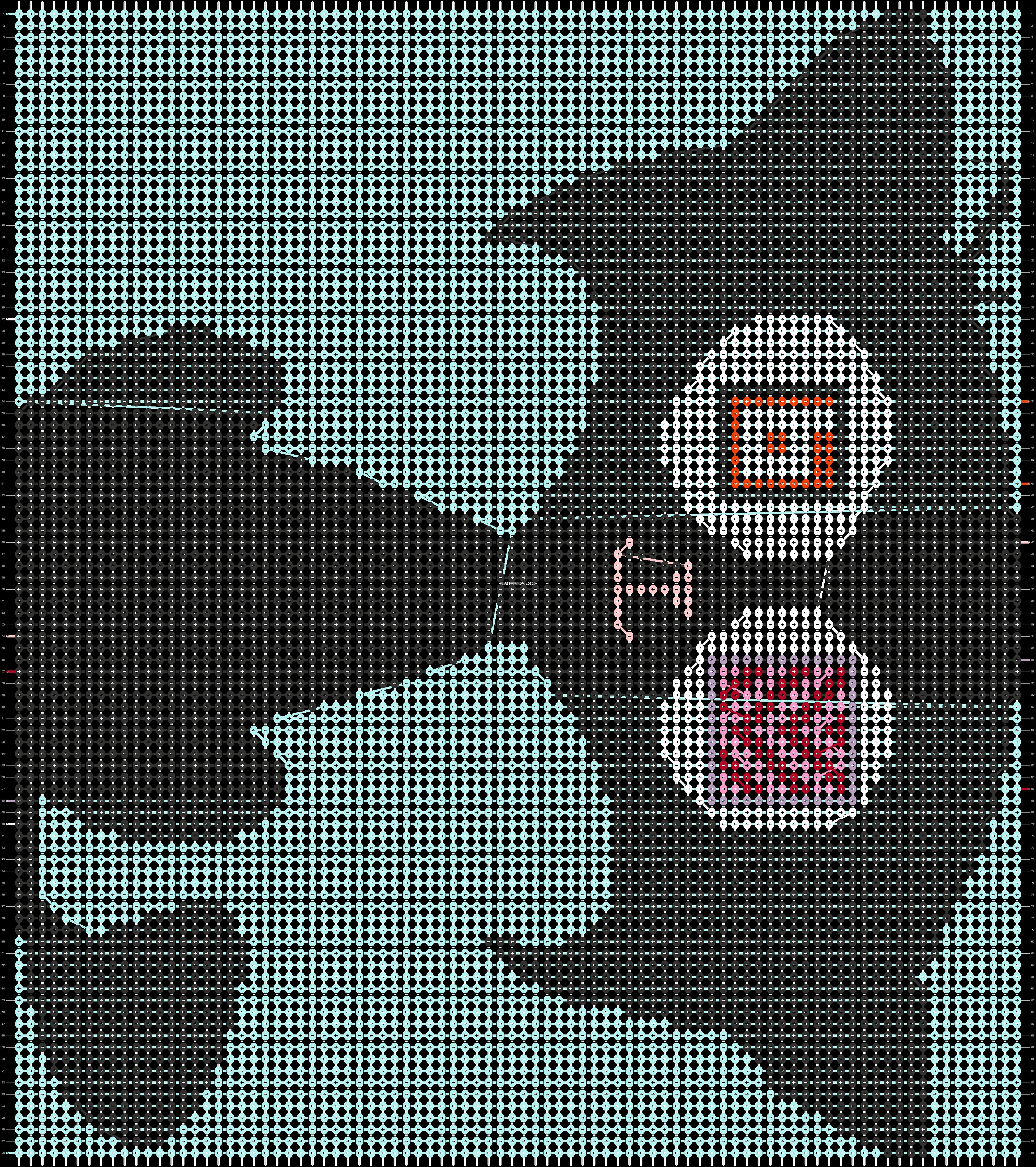 Alpha pattern #80641 pattern